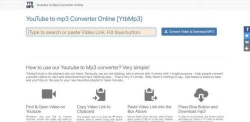 Fast YouTube to Mp3 Converter