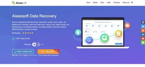 iPhone Data Recovery Software Backup