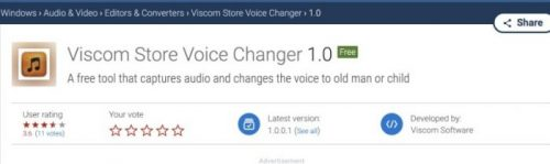 Free Voice Change Male to Female